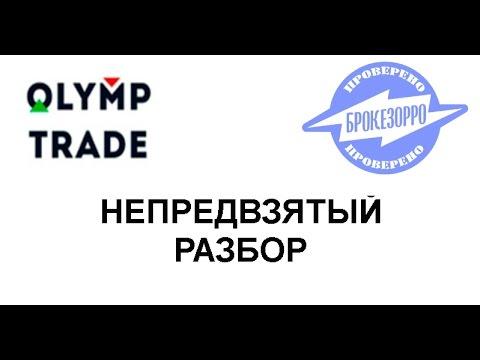 Олимп Трейд (Olymp Trade). Непредвзятый разбор