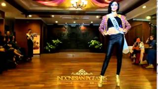 Elfin Pertiwi Rappa Miss Indonesia International 2014 Press Conference