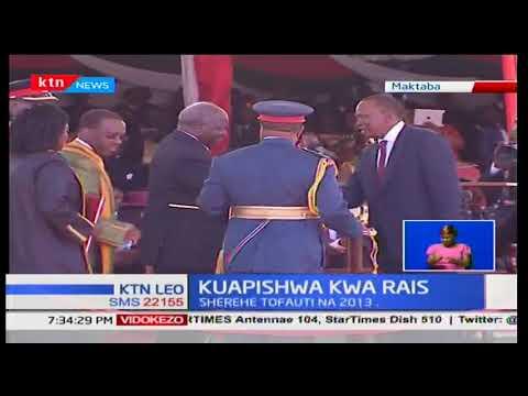 Matayarisho ya kumapisha rais Uhuru Kenyatta yaendelea