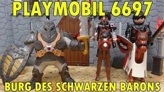 """""""PLAYMOBIL 6697 BURG DES SCHWARZEN BARONS + 6694 + 6696"""" -Vorstellung"""
