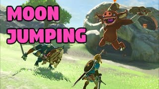 MOON JUMPING GLITCH and More Shenanigans - The Legend of Zelda: Breath of the Wild
