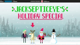 Happy holidays and welcome to Jacksepticeye's Holiday Special! Join us for games, gifts, and surprises as we stream for charity with Save the Children! Donate to Save the Children: http://spr.ly/6005DGvwx Don't forget to tweet us with #JacktheHalls!     Intended for U.S. Audiences. About Save the Children: Save the Children invests in childhood – every day, in times of crisis and for our future. In the United States and around the world, we give children a healthy start, the opportunity to learn and protection from harm. By transforming children's lives now, we change the course of their future and ours. Last year, Save the Children worked in 120 countries and helped more than 185 million children. For more information about our programs please visit: http://www.savethechildren.org