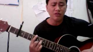 tell me your name (christian bautista) - acoustic cover