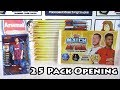 Opening 25 Match Attax 2019/20 Packs | Search For The 101 Messi | Half A Booster Box