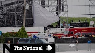 Radiohead stage collapse death to be subject of inquest | CBC Exclusive