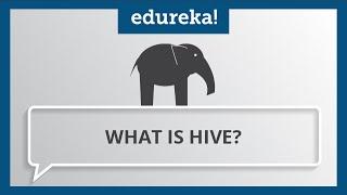 What is Hive in Hadoop? | Pig vs Hive | Hive Tutorial for Beginners | Hadoop Tutorial | Edureka