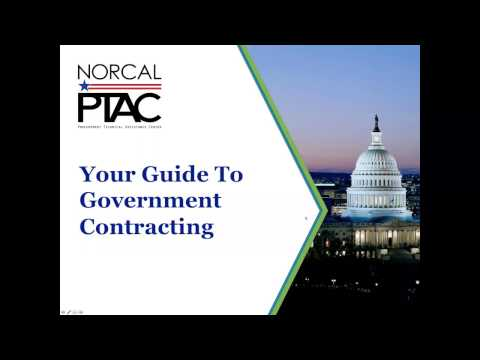 Your Guide to Government Contracting - Webinar - YouTube