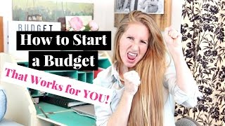 How to Start a Budget That Actually Works | 6 Easy Steps to Starting a Budget