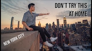 I Went Rooftopping at New York City *Secret* Locations