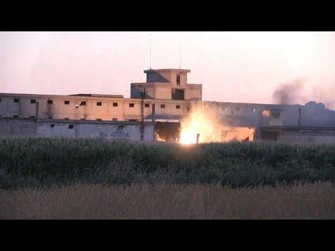 Τουρκία: Εκρήξεις σε αποθήκη πυρομαχικών κοντά στα σύνορα με τη Συρία…