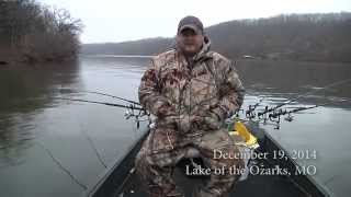 Crappie Fishing with Crappie Boss in December