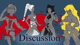 RWBY Discussion: Volume 7 Designs