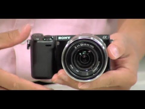 FIRST LOOK: NEW SONY NEX-5R DIGITAL CAMERA