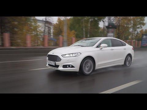 Ford Mondeo Liftback Лифтбек класса D - тест-драйв 4
