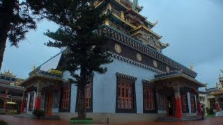 Temple dedicated to Tara, Golden temple, Coorg