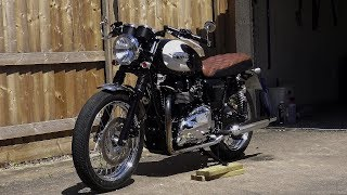 Custom Triumph Bonneville T100! The Return Of PAYDAY PROJECTS!