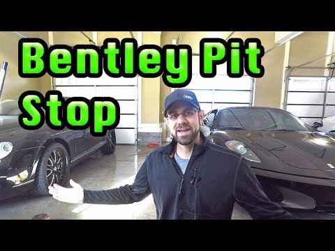 Bentley Continental GT Gets some new Tires!