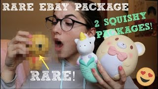 RARE EBAY PACKAGE! | 2 SQUISHY PACKAGES