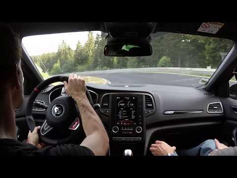 Renault Megane 4 RS 280 Cup - Nürburgring nordschleife hot lap onboard