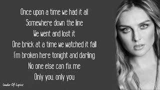 Cheat Codes, Little Mix   ONLY YOU (Lyrics)