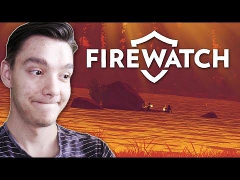 PRCINKY U JEZERA ( ͡° ͜ʖ ͡°) | Firewatch #2