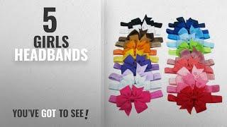 10 Best Girls Headbands [2018 Best Sellers]: Kupid® Baby Girl Toddler Elastic Bowknot Headband-20Pc