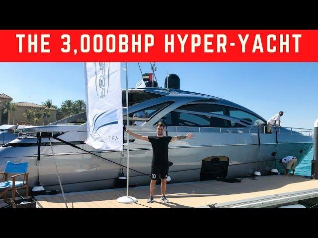 RIDING THE £3MILLION HYPER-YACHT IN DUBAI | 3,200bhp!!