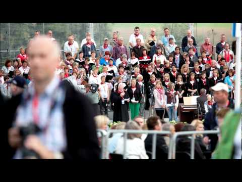 Benedikt XVI. in Etzelsbach: Wir waren da