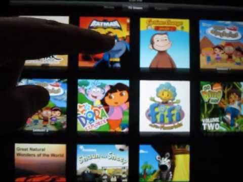 iPad How-to: Watching TV Shows & Movies