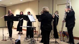 Circle of Flutes performs for the Northwest Center for Creative Aging
