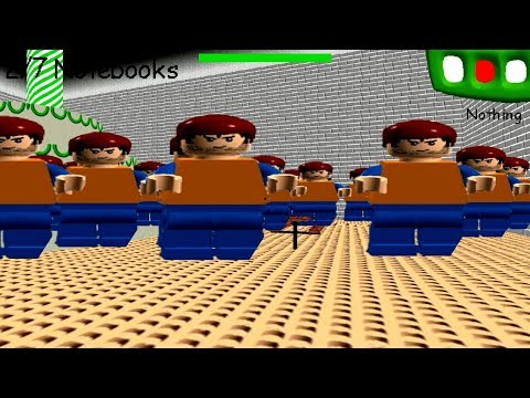 CLONE BULLY in  LEGO School in Baldi's Basics in Education & Learning