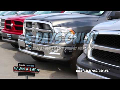 Galaxy Motors Pawn-A-Thon 2014 Commercial A