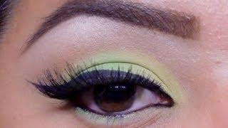 MAC Lime Eyeshadow Tutorial