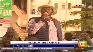 Tunaanza republic ya tatu na ukombozi wa tatu umeanza - Raila Odinga