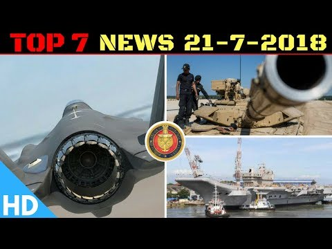 Indian Defence Updates : India's 6th Gen Aircraft,Rafale Deal Pact,INS Vikrant,Tank Biathlon 2018