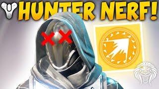 Destiny 2: MASTER EXOTICS  HUNTER NERF! New Loot, Season 3 Update  Surprise Buff