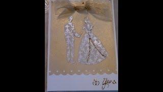 Handmade Wedding Invitation or Anniversary Card