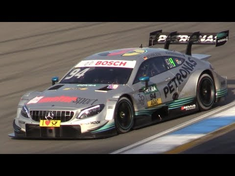 Mercedes AMG C63 DTM Last Ever Race at Hockenheimring