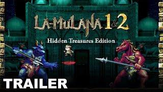 LA-MULANA 1 & 2 - Gameplay Trailer (Nintendo Switch, PS4, XBox One)