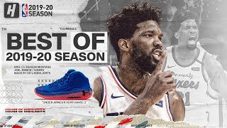 Joel Embiid BEST 76ers Highlights from 2019-20 NBA Season!