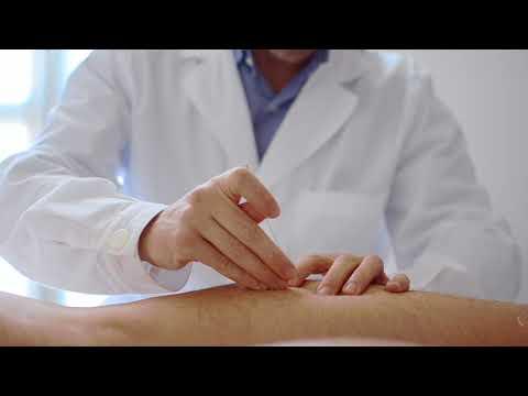 Agopuntura: la tecnica di infissione dell'ago