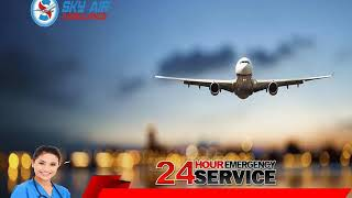 Book Hi-Class Modern Commercial Air Ambulance Service in Gorakhpur