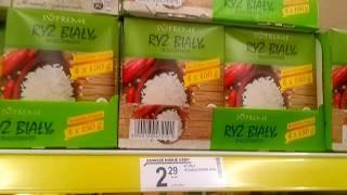 """Цены на продукты в Польше 2018. Обзор магазина """"Biedronka"""""""