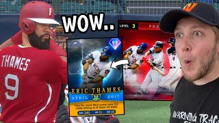 he's back.. 99 ERIC THAMES RETURNS and SCARES opponents (mlb the show 20)