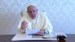 Video message of the Holy Father Francis to Italian and world families in this time of pandemic