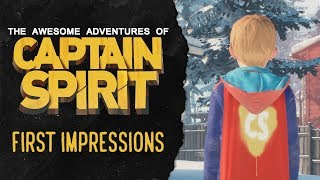 My First Impressions of Captain Spirit (It's Awesome!)