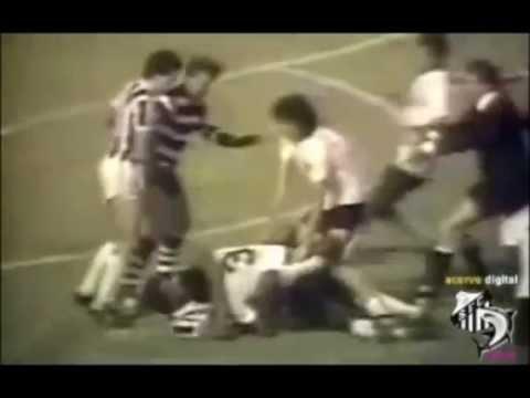 Corinthians 0 x 0 Santos 1983- Briga do Serginho x Mauro