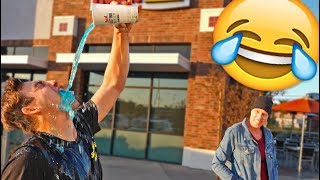 STRAIGHT ARM CHALLENGE IN PUBLIC (NEW TREND)
