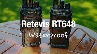 Retevis RT648 Waterproof Walkie Talkies (PMR446 Water and Range Test)