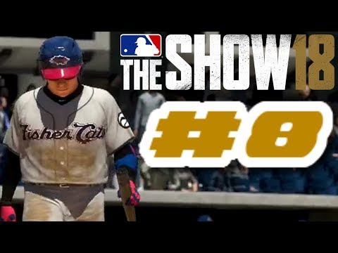 MLB The Show 18 PS4 Road To The Show Ep.5 (Road To MLB The Show 19 PS4 Road To The Show Ep.8)